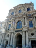 The Louvre Exterior by Meagan-Marie