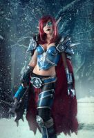 Death Knight cosplay by jellyxbat