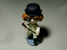 Chibi Alex - A Clockwork Orange (1971) by maga-01