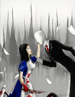 Unlikely band: When Alice met Slenderman by Omnipotrent