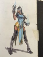 Overwatch Symmetra by Johnsmith8989