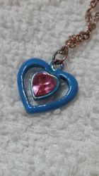 Heart Piece Necklace by FantasyFeathers