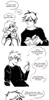 Zander and Sadie mini comic by R0BUTT