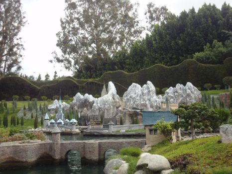 Arendelle  Storybook land Canal Boats by MightyMorphinPower4