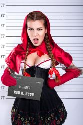 Red R. Hood Murder cosplay by shproton