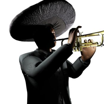 Mariachi Pose Test Salvador by hrgpac