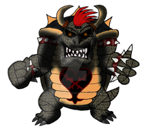 BowserHeartless Kingdom Hearts Jurassic Revolution by DrPingas