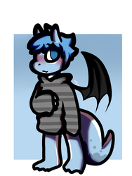 Request Oc Dragon by burningblazecat