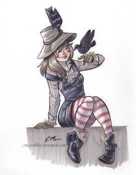 Scarecrow by em-scribbles