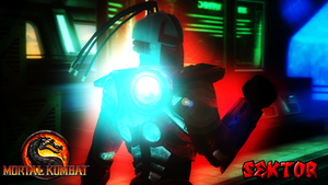 Mortal Kombat - Sektor Wallpaper by ShadowGlobe