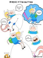 Fionna and Finn funny moments by DayaChUu