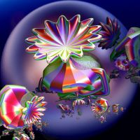 colorful  forms with flowers by Andrea1981G