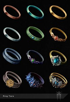 Fantasy Ring Tiers by KARGAIN