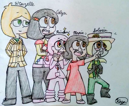 The Squaaad by ScribbleBear3