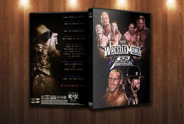 Wrestlemania 25 DVD Cover by FBM721