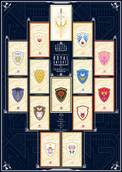 Knights of Yggdrasil | Royal Knights Card Set [2] by PlisKiNPT