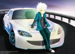 Hitsugaya Toshiro_Race Over by renealexa