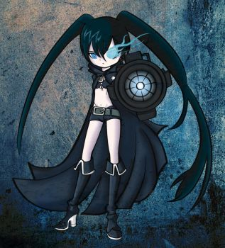 Black Rock Shooter by elmaycol