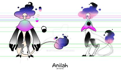 Anilah Character Sheet by ICFTW