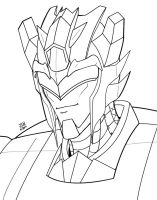 TFP Jazz concept inks by Wrecker-lady