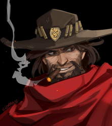 McCree by Ciorane