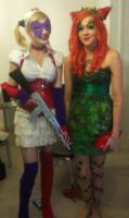 Quinn and Ivy by AverageCosplays