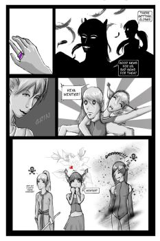 Contest page one: INTRO by Naruchanwa