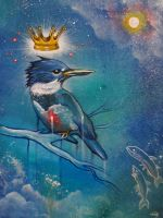 King Fisher by bedowynn