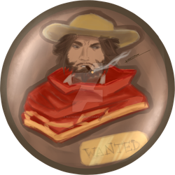 Wanted: Jesse McCree by NatsuriSuzuki