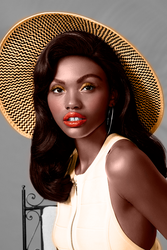 Colorizacion Glamour South Africa by SilvanaLB