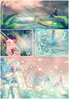 The flute in the lake by MasakoHime