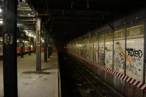 Abandoned 9th Avenue Station by Demidism