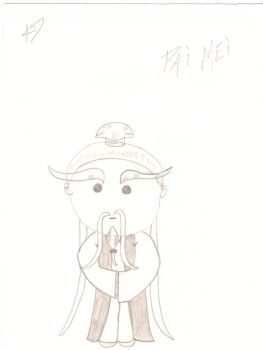Pai Mei Chibi by Everybody-Hides