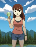 Summer Ice Cream by jcling