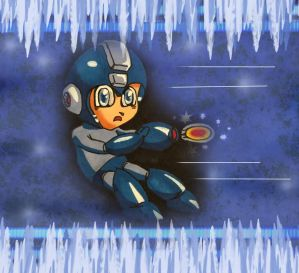 Ice Cold Megaman by shunter071