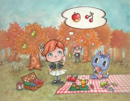 Come to my town this Harvest Festival! by SpeedLimit-Infinity