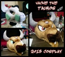 Tauros Cosplay WIP