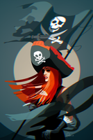 The Pirate by psstronaut