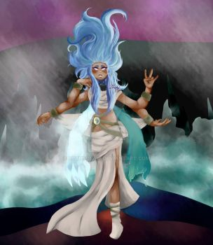 Storm Goddess by Lotusclaw