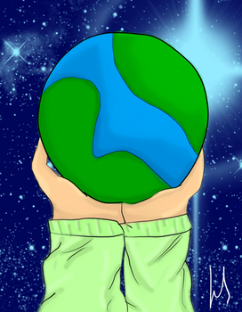 My perfect little world by PapinellaArts