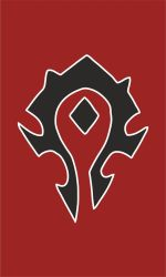 Warcraft Horde Banner by OSFlag