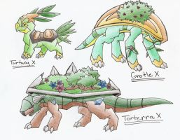 Turtwig Evolution Series X