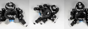 Custom Mini Jumping Spider Plush by WhittyKitty