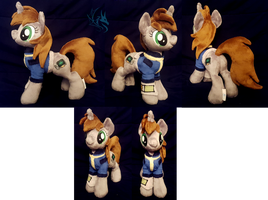 Little Pip - Custom Plush by Fire-Topaz