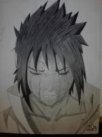 Sasuke cries by JulianArt9497