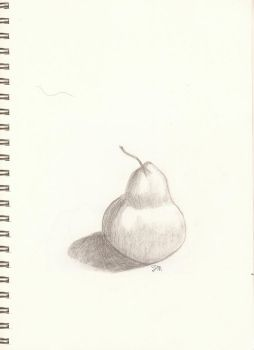 Day 1: Pear by cycoclash25