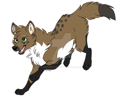 Wolf adoptable 20 points {OPEN} by Cherri-Pawz