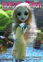 MH-Fashiondolls Cover - 12/2012 - Lagoona by IceBluemchen