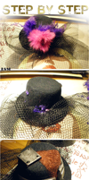 Step by Step-Tiny Steampunk Hat by SteamBerry