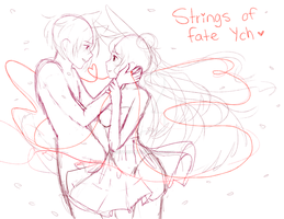 (closed) YCH STRINGS OF FATE AUCTION by CritterPunk